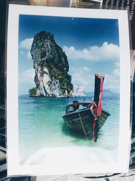 Krabi 販賣的明信片